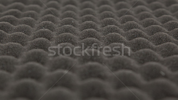 Black bumpy safety material isolated Stock photo © michaklootwijk