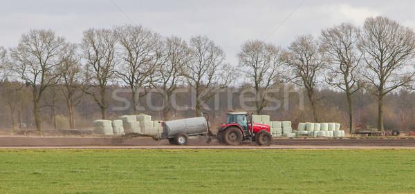 アプリケーション 肥料 オランダ語 金属 フィールド ストックフォト © michaklootwijk