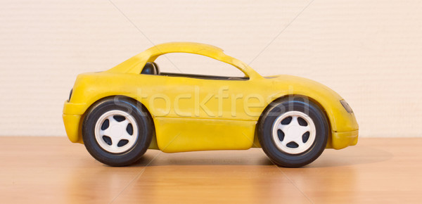 Clear colored small car toy Stock photo © michaklootwijk