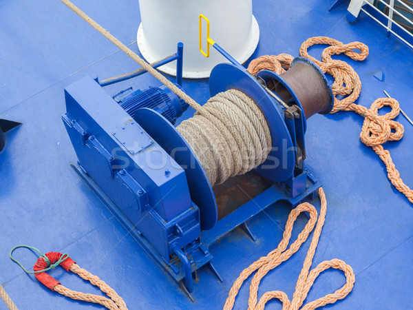 Anchor winches  Stock photo © michaklootwijk