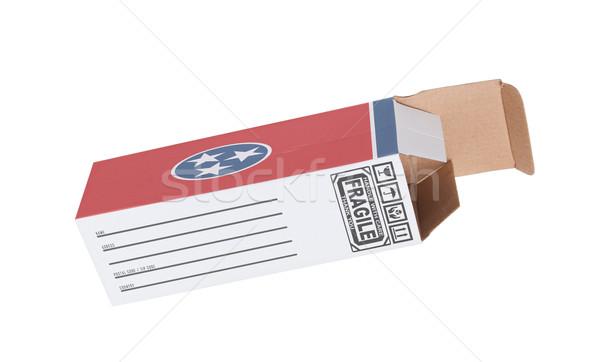 Eksport produktu Tennessee papieru polu Zdjęcia stock © michaklootwijk