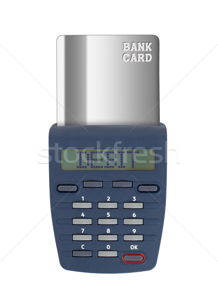 Security device for banking at home Stock photo © michaklootwijk