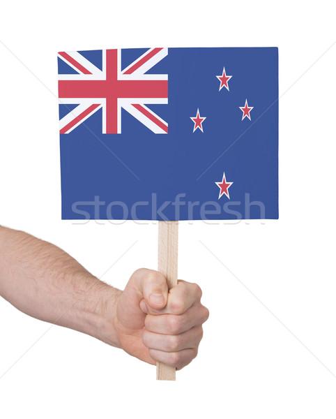 стороны небольшой карт флаг Новая Зеландия Сток-фото © michaklootwijk