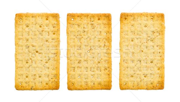 Simple crackers isolated Stock photo © michaklootwijk