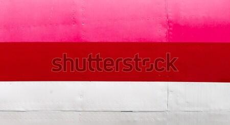 Old airplane body - Pink Stock photo © michaklootwijk