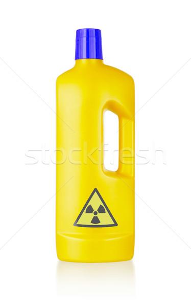 Plastic bottle cleaning-detergent Stock photo © michaklootwijk