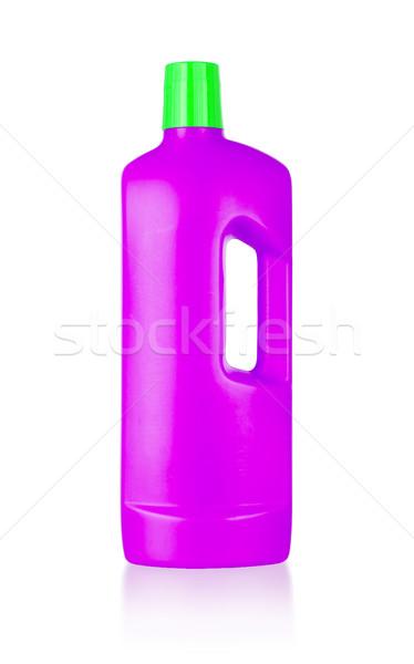 Plástico garrafa isolado branco grupo banheiro Foto stock © michaklootwijk