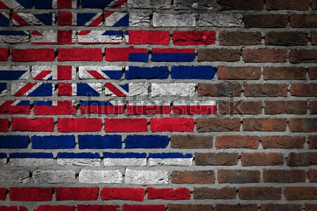 Dark brick wall - LGBT rights - Hawaii Stock photo © michaklootwijk