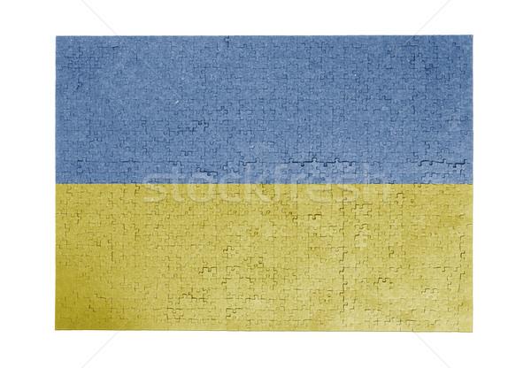 ジグソーパズル 1000年 ピース ウクライナ フラグ ストックフォト © michaklootwijk
