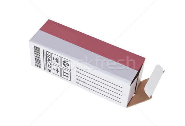 Exportar producto Mónaco papel cuadro Foto stock © michaklootwijk
