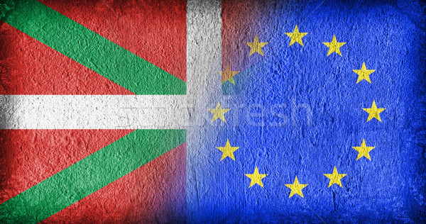 Basque Country and the EU Stock photo © michaklootwijk