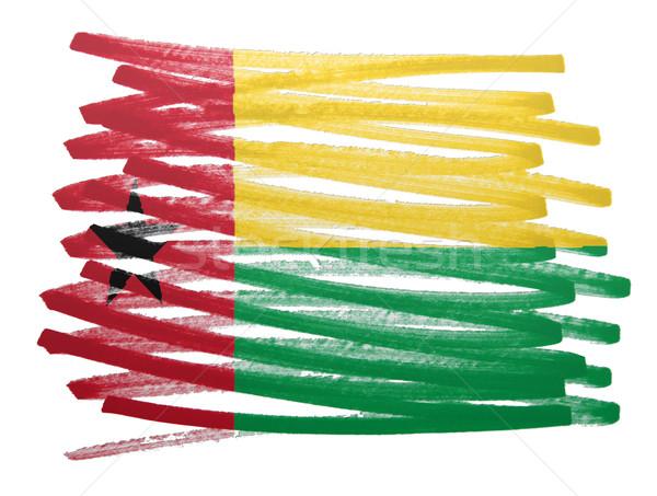 Flag illustration - Guinea Bissau Stock photo © michaklootwijk