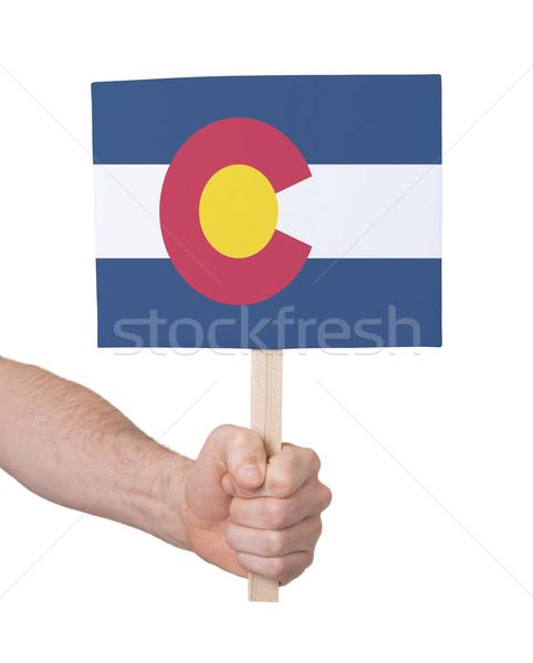 стороны небольшой карт флаг Колорадо Сток-фото © michaklootwijk