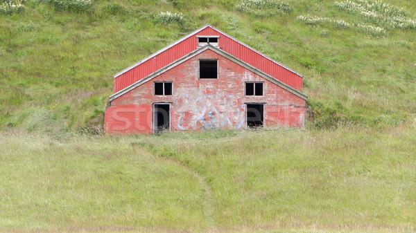 Old abandoned farmhouse Stock photo © michaklootwijk