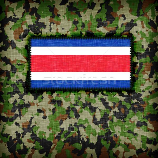Uniforme Costa Rica bandeira textura abstrato Foto stock © michaklootwijk