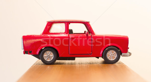 Red toy car Stock photo © michaklootwijk