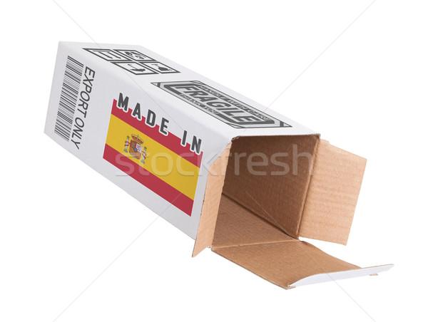 Concept of export - Product of Spain Stock photo © michaklootwijk