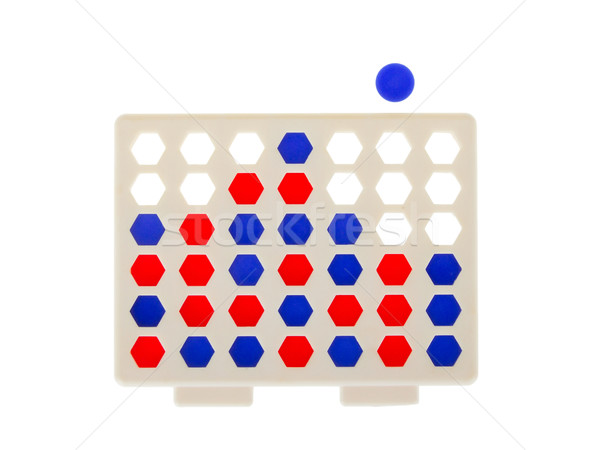 Bingo, line-up 4 isolated Stock photo © michaklootwijk