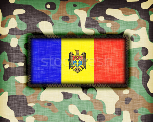 Amy camouflage uniform, Moldavia Stock photo © michaklootwijk