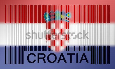 Barcode flag Stock photo © michaklootwijk