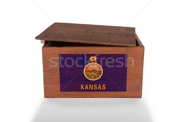 Isolado branco produto Kansas Foto stock © michaklootwijk