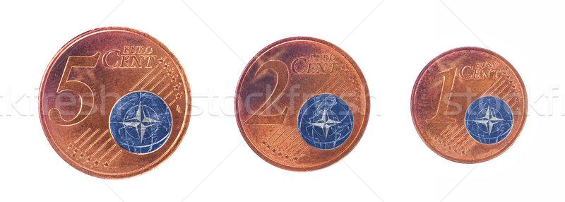 ヨーロッパの 組合 フラグ お金 現金 ヨーロッパ ストックフォト © michaklootwijk