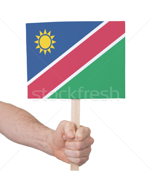 стороны небольшой карт флаг Намибия Сток-фото © michaklootwijk