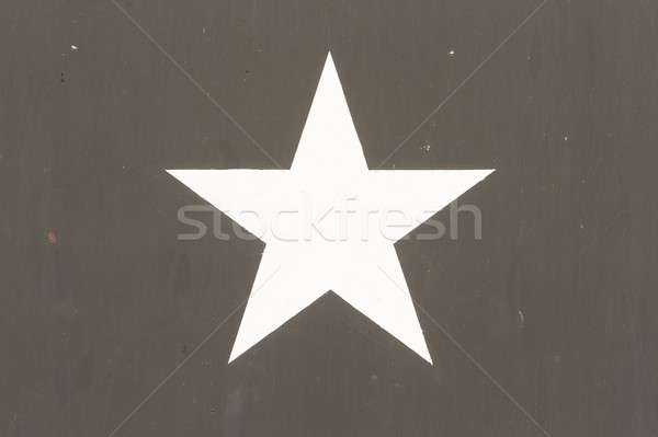Star Symbol on a Vietnam war US Military Vehicle Stock photo © michaklootwijk