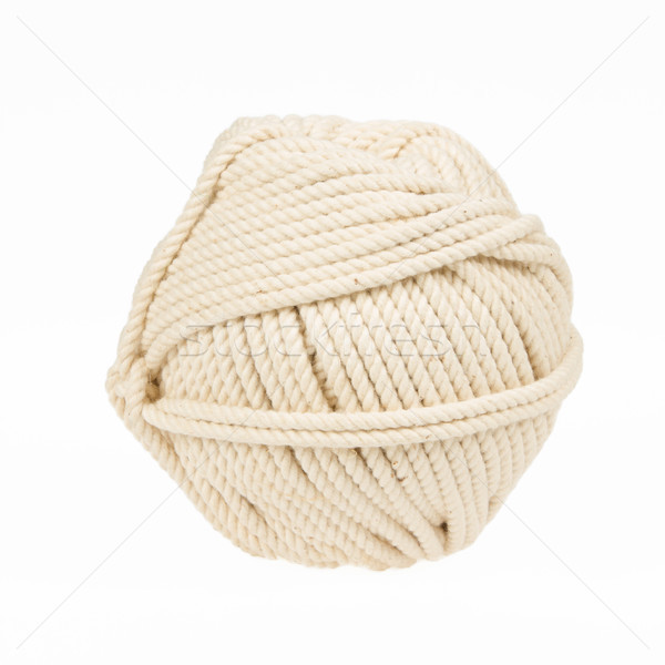 Knitting yarn isolated on a white background Stock photo © michaklootwijk