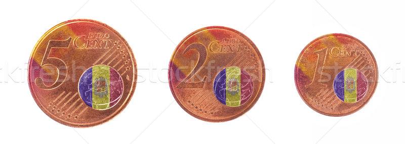 Europese unie vlag Andorra cash Europa Stockfoto © michaklootwijk