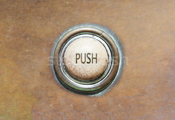 Old button - push Stock photo © michaklootwijk
