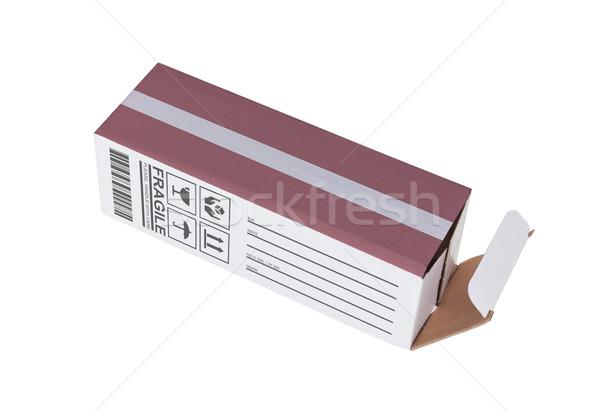 Eksport produktu Łotwa papieru polu Zdjęcia stock © michaklootwijk