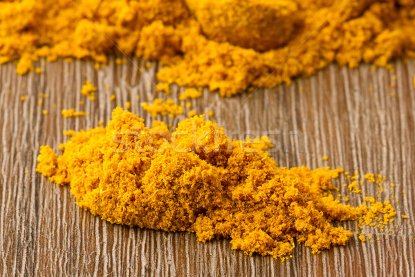 Heap of turmeric Stock photo © michaklootwijk