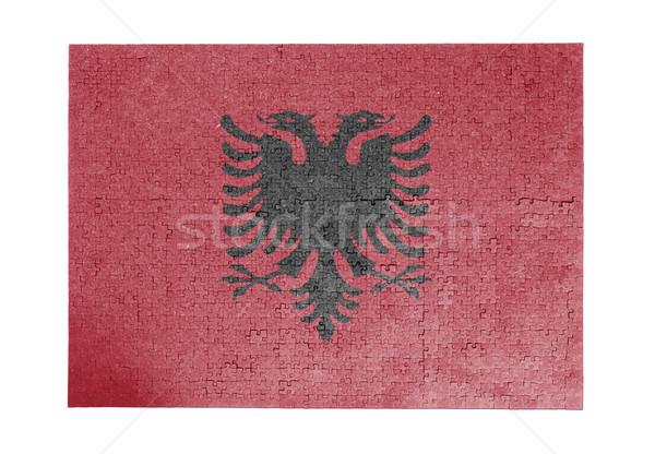 1000 pièces Albanie pavillon Photo stock © michaklootwijk