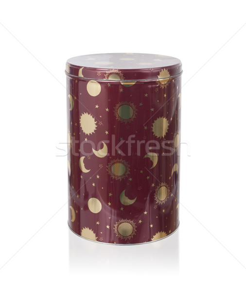 Metal tin kitchen canister Stock photo © michaklootwijk