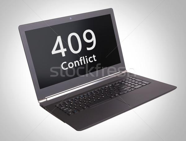 HTTP Status code - 409, Conflict Stock photo © michaklootwijk