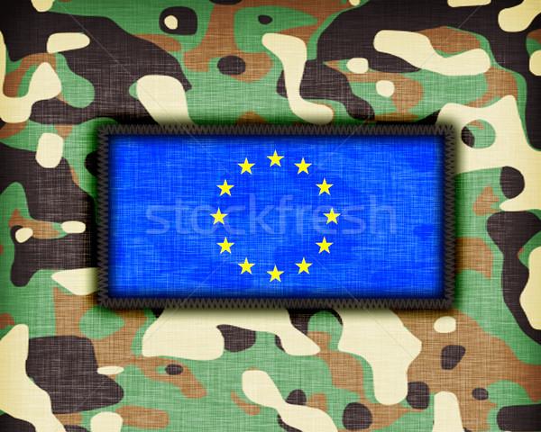 Amy camouflage uniform, EU Stock photo © michaklootwijk
