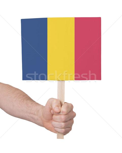 стороны небольшой карт флаг Румыния Сток-фото © michaklootwijk