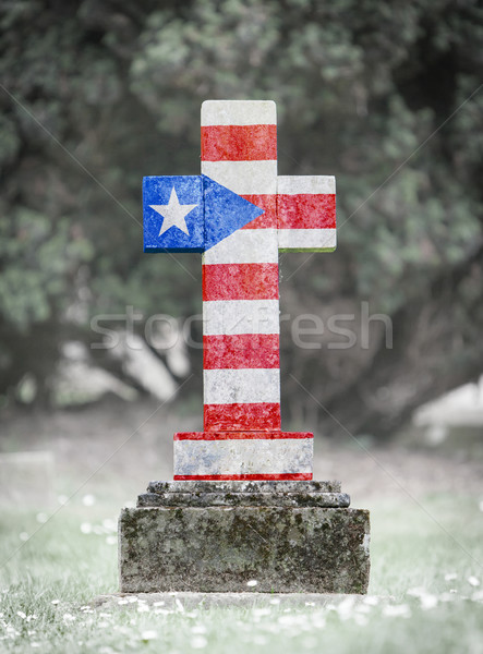 Gravestone in the cemetery - Puerto Rico Stock photo © michaklootwijk