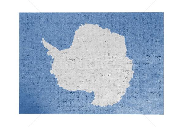 Large jigsaw puzzle of 1000 pieces- Antarctica Stock photo © michaklootwijk