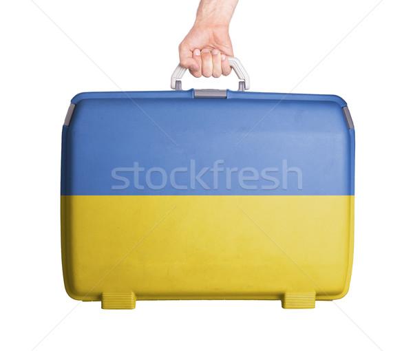 中古 プラスチック スーツケース 印刷 フラグ ストックフォト © michaklootwijk