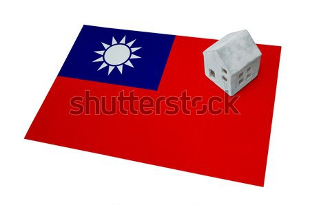 Flag burning - Taiwan Stock photo © michaklootwijk