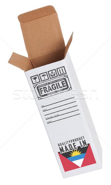 エクスポート 製品 紙 ボックス ビジネス ストックフォト © michaklootwijk