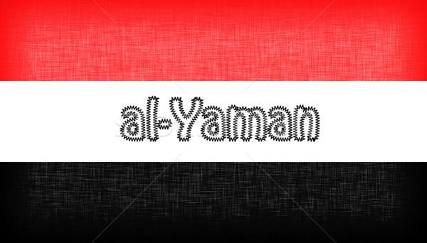 флаг Йемен письма изолированный текстуры дизайна Сток-фото © michaklootwijk
