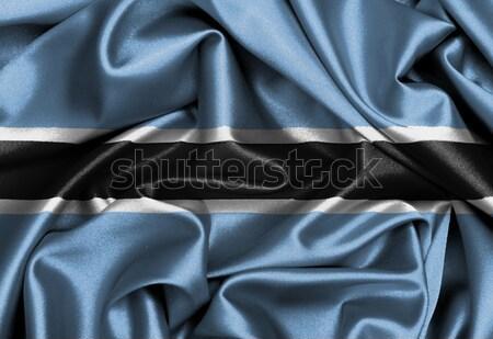 Szatén zászló háromdimenziós render Argentína háttér Stock fotó © michaklootwijk