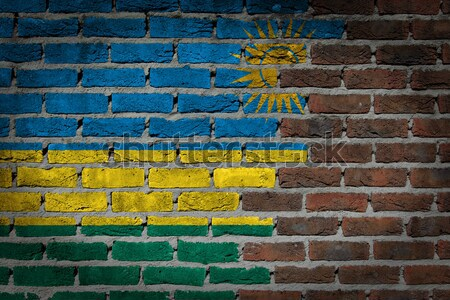 Dark brick wall - LGBT rights - Estonia Stock photo © michaklootwijk