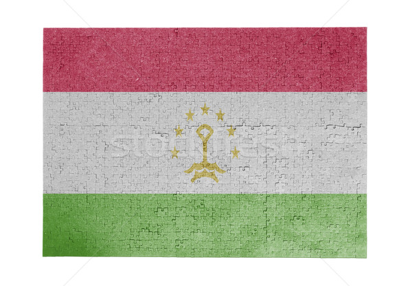 Large jigsaw puzzle of 1000 pieces- Tajikistan Stock photo © michaklootwijk