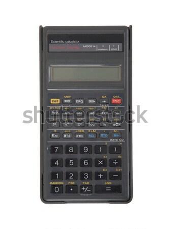 Dirty old calculator Stock photo © michaklootwijk