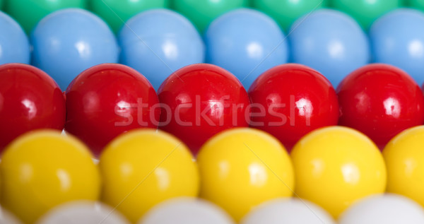 Edad colorido ábaco atención selectiva calculadora Foto stock © michaklootwijk