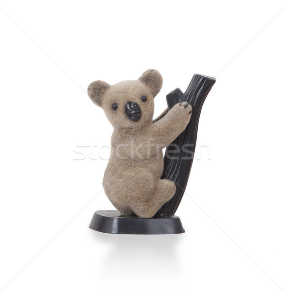 Koala figurine on a branch Stock photo © michaklootwijk